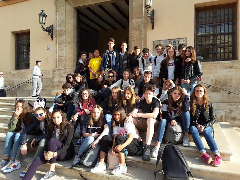 Alumnos de La Salle Avignon han permanecido de intercambio en La Salle Paterna