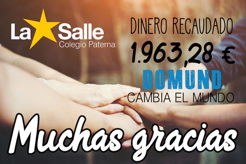 La Salle Paterna muestra su solidaridad en la campaña del DOMUND
