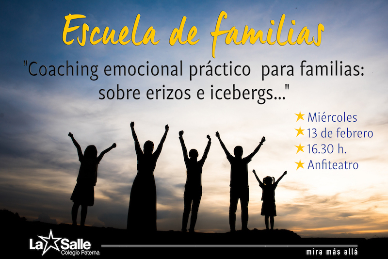 Próxima Escuela de Familias: Coaching emocional práctico para familias
