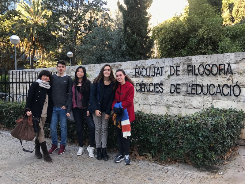 Alumnos 1º de Bachillerato participan en la Olimpiada de Filosofía