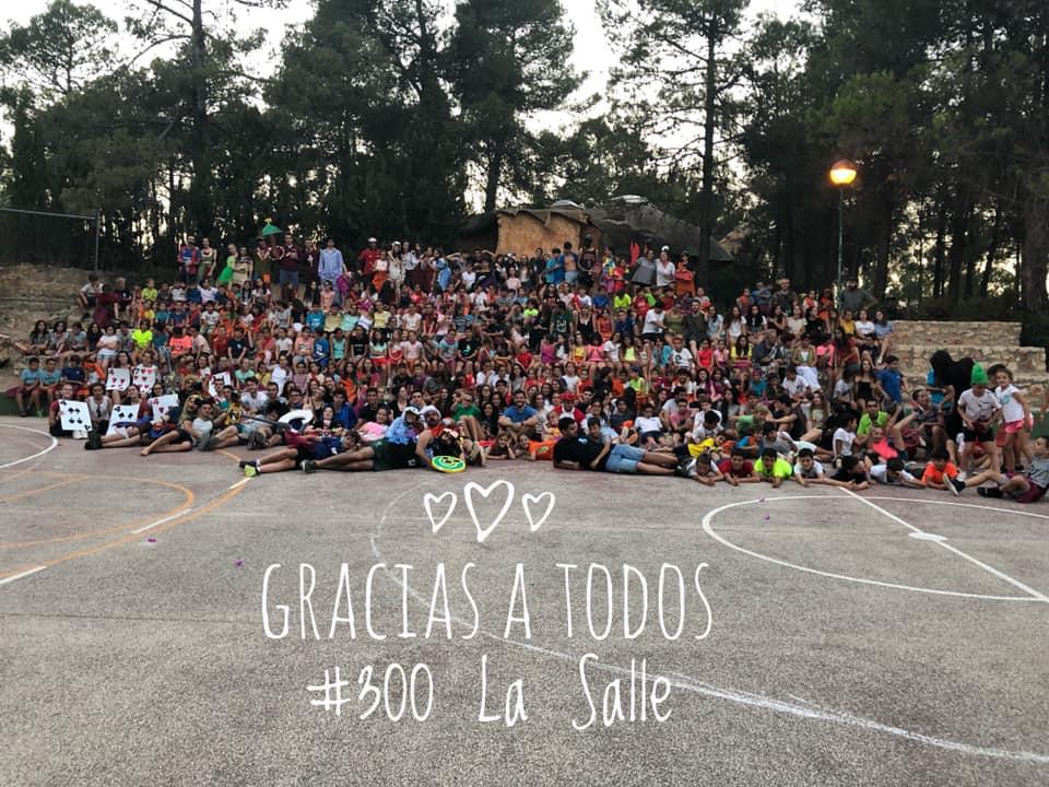 350 Lasalianos regresan del Campamento de Verano del Colegio La Salle Paterna