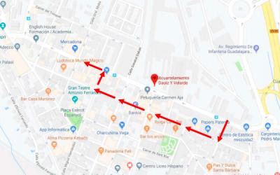 Corte de tráfico Av. Cortes Valencianas 27 de septiembre 14:05 h. por desfile militar