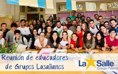 Los educadores de Grupos Lasalianos se reúnen para planificar el curso