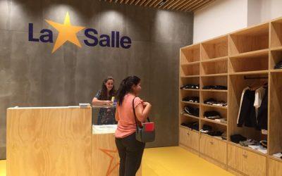 Inauguramos la nueva tienda del colegio La Salle