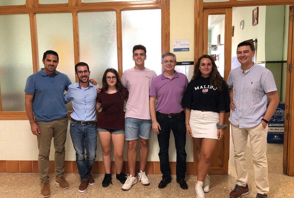 Premios Extraordinarios de ESO para tres alumnos del Colegio La Salle de Paterna