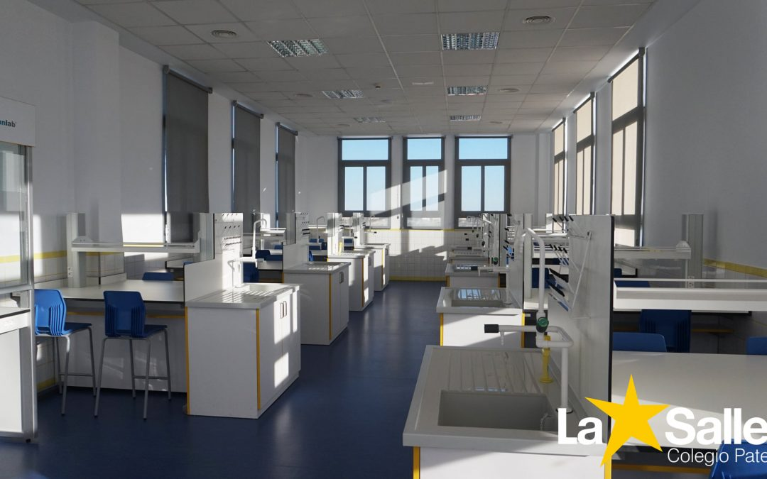 Nuevas instalaciones en el Colegio La Salle de Paterna