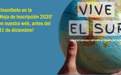 Abierta la inscripción para los proyectos de verano 2020 con Proyde