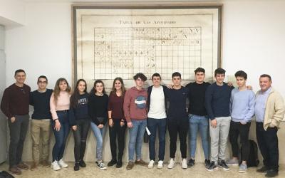 Alumnos de Bachillerato participan en la Olimpiada de Química de Valencia