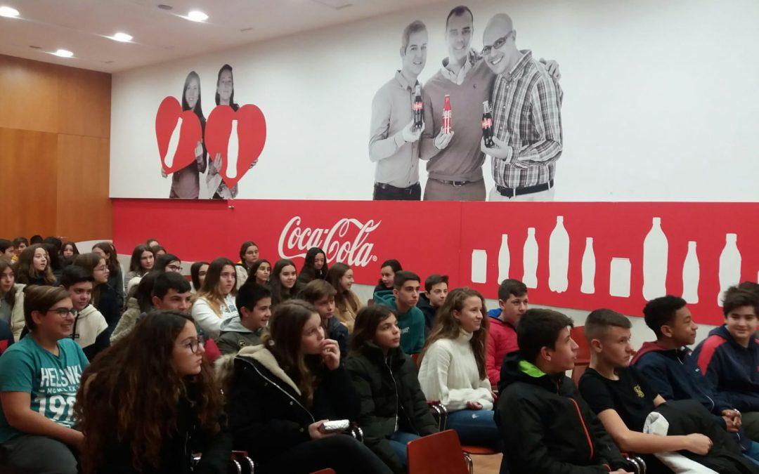 Alumnos de 2º ESO visitan la embotelladora de Coca-Cola