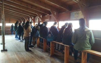 3º ESO visita el Centro de Interpretación Racó de L'Olla – Parque Natural de l'Albufera
