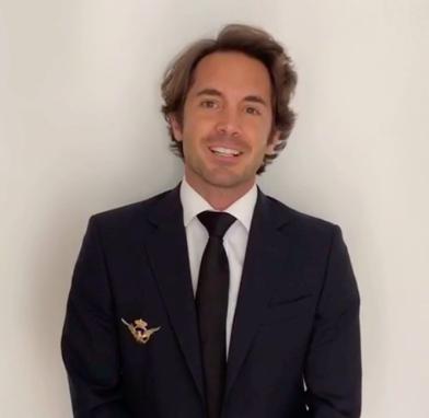 Víctor Daroqui, antiguo alumno de La Salle Paterna y piloto de Iberia nos manda un mensaje