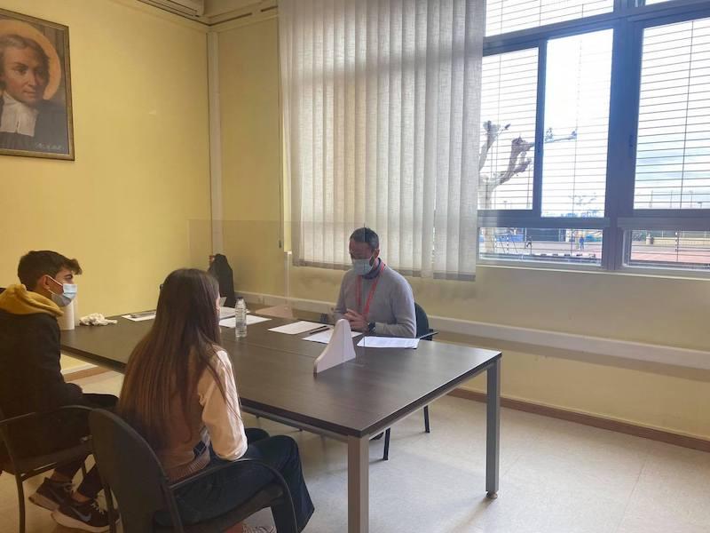 El alumnado de ESO y Bachillerato realiza los MOCK, simulacro del examen de Cambridge