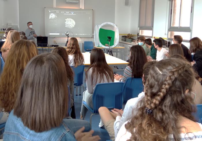 Jornada de difusión para la obtención de modelos digitales en 3D de la Universitat de València en La Salle Paterna