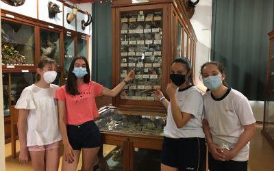Alumnas de 1º de la ESO  nos descubren pequeños tesoros del museo