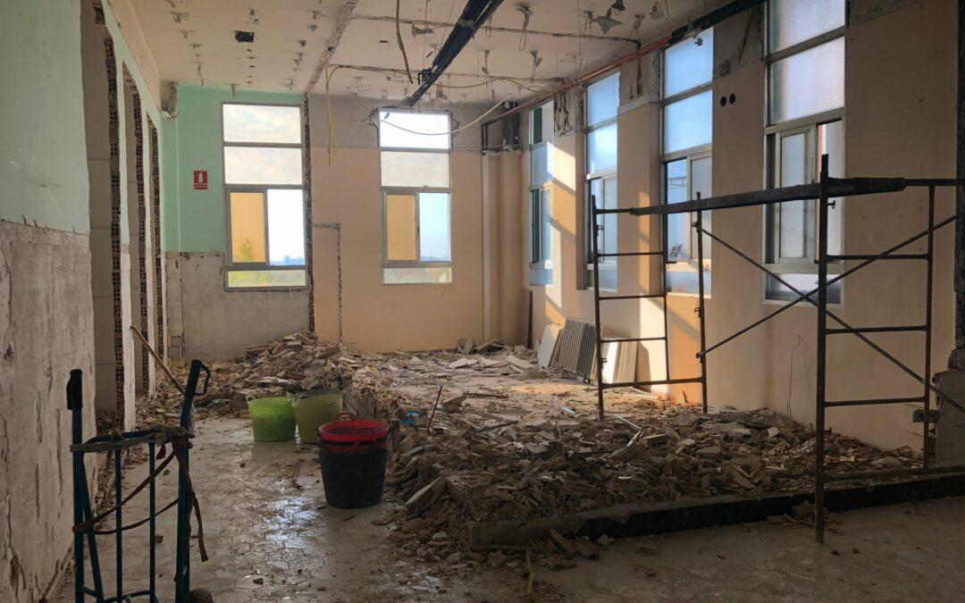 Como cada verano, mejoramos nuestras instalaciones con espacios renovados y adaptados a nuestros valores y a nuestra forma de trabajar