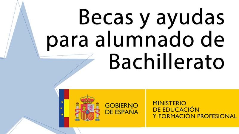 Becas al Estudio para el curso 2021-2022 para el alumnado de Bachillerato