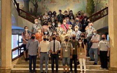 La Real Sociedad Española de Ciencias Naturales visita el Museo del Colegio La Salle de Paterna en la XXIV Bienal