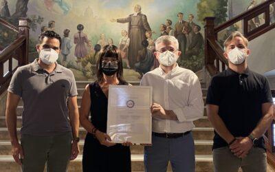 """El Colegio La Salle de Paterna obtiene el sello """"Fent Empresa. Iguals en Oportunitats"""" tras la validación del Plan de Igualdad por parte de la Generalitat Valenciana"""