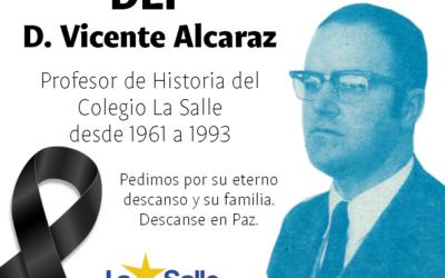 Fallece Don Vicente Alcaraz, profesor jubilado del Colegio La Salle de Paterna