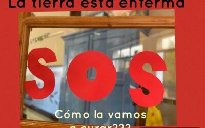 """Nuevo proyecto en 1º de Primaria: """"SOS: la tierra está enferma"""""""